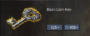 Gw2 Black Lion Key