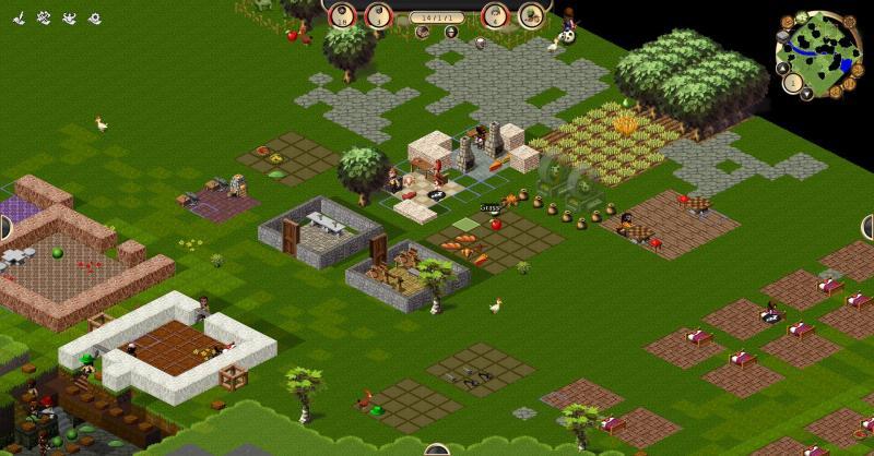A healthy looking village