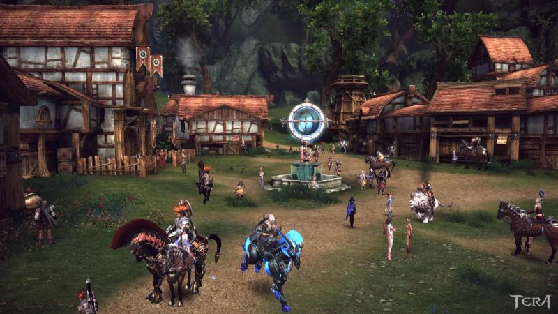 TERA Town in the woods