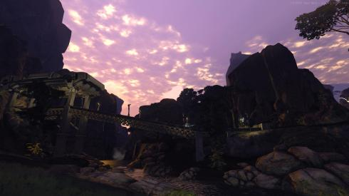 Firefall Purple Sunset