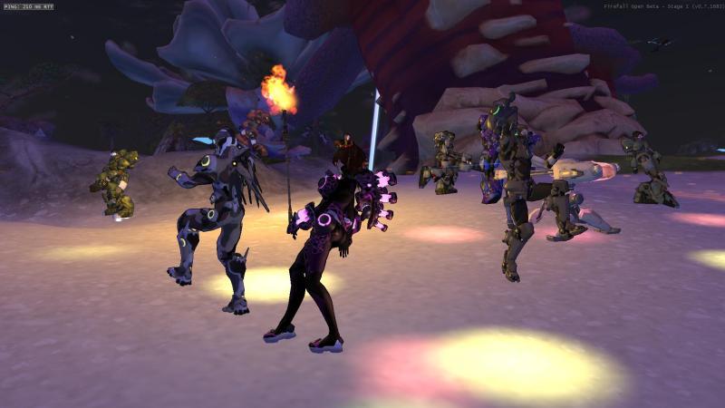 Firefall Dance