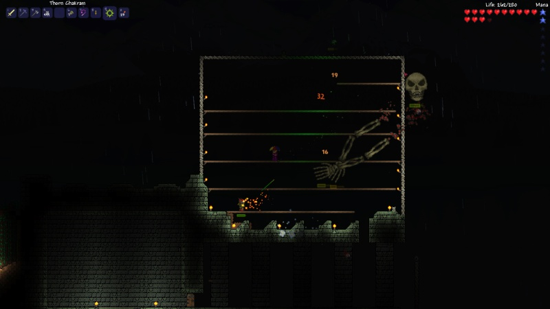 Terraria Skele boss