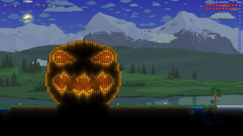 Terraria pumpkin