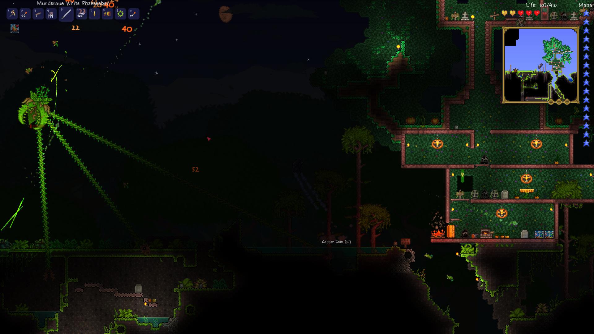 crimson background terraria