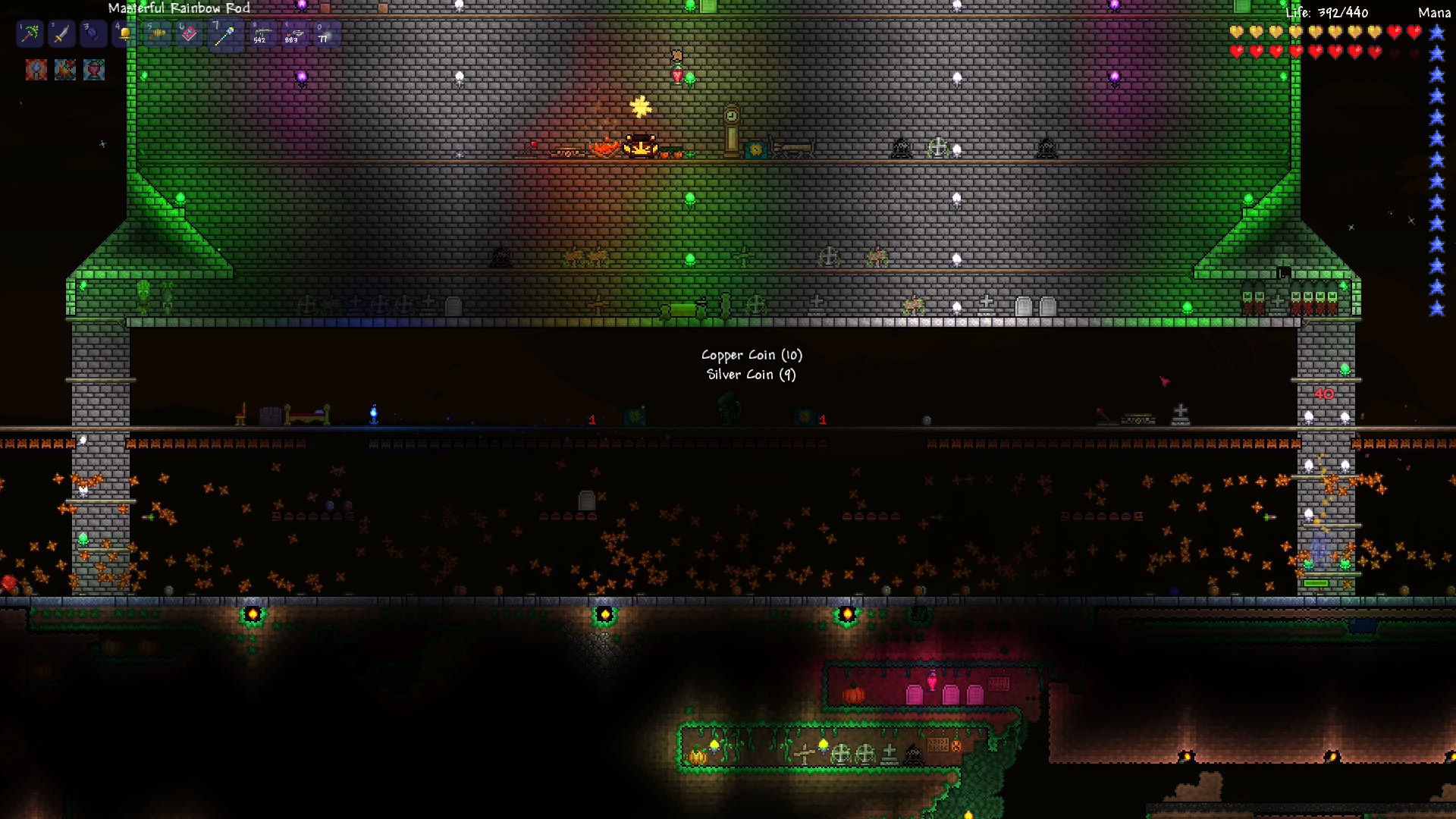 The Terraria Times Corruption Control And Battling Bosess Healing Wiring Guide Meat Grinder