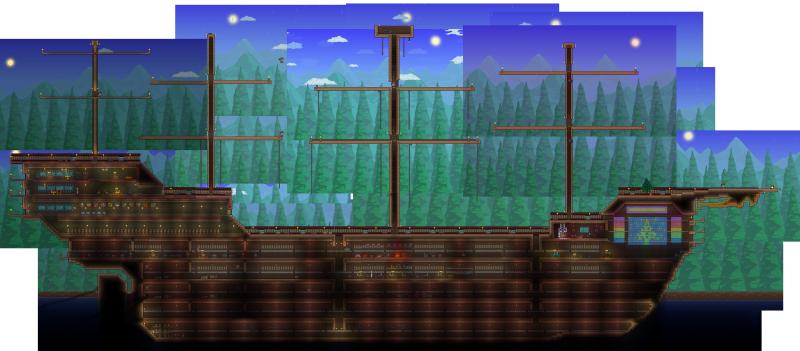 terraria boat