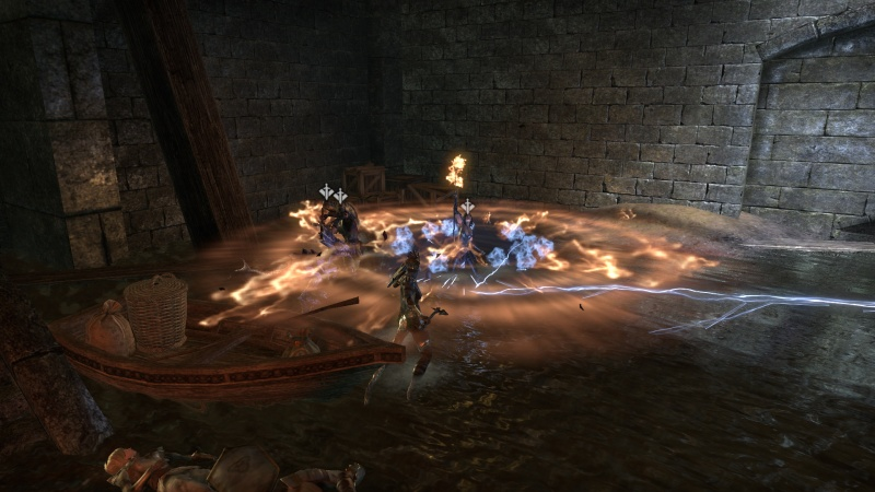 Fire, the solution to all your ESO problems