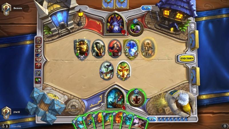 Hearthstone warlock death