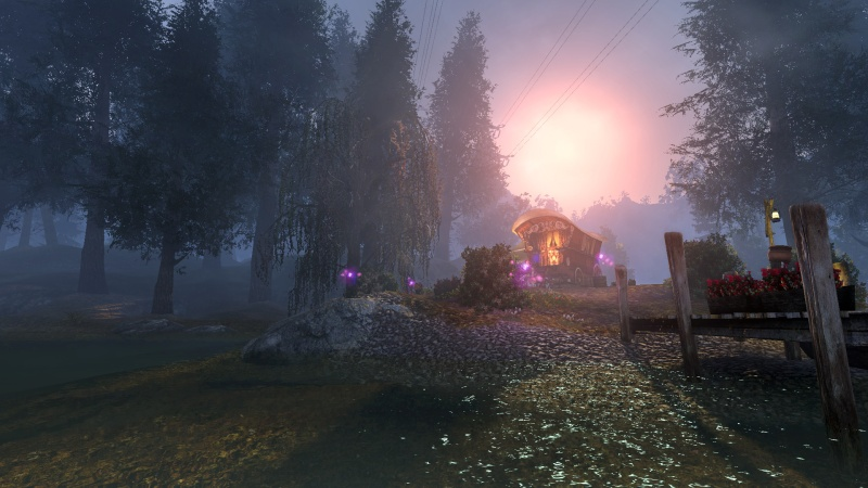 TheSecretWorld shadowy forest