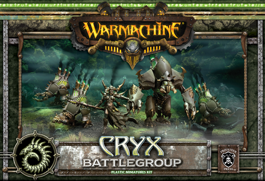 definitely would be warmachine and cryx if I did it again