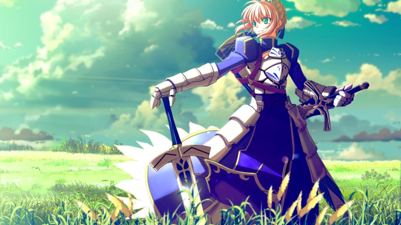 Saber is rather awesome, especially considering the back story